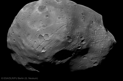 Phobos pe 9 ianuarie 2011