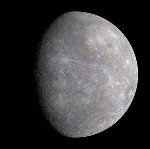 Planeta Mercur. Foto: ASA/Johns Hopkins University Applied Physics Laboratory/Carnegie Institution of Washington