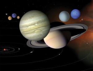 Planetele din sistemul solar