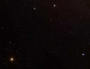 Stele de diferite culori în Triangulum Australe. Foto: SDSS