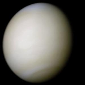 Planeta Venus așa cum s-ar vedea de aproape cu ochiul. Foto:  NASA/Ricardo Nunes