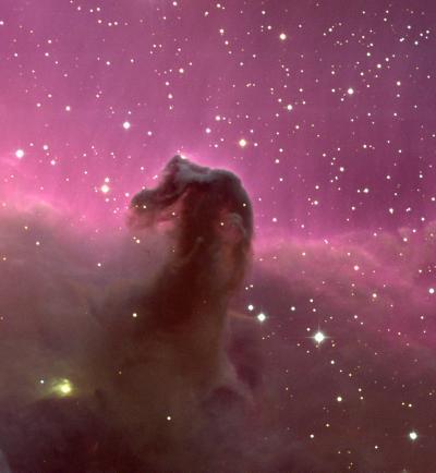 Nebuloasa Cap de Cal sau mai simplu IC434. Foto: N.A.Sharp/NOAO/AURA/NSF