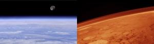 Două planete, două atmosfere