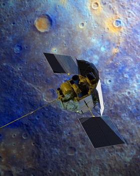 MESSENGER la Mercur