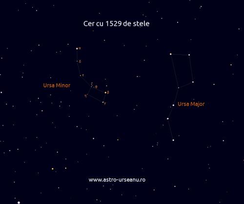 Cer cu 1529 de stele
