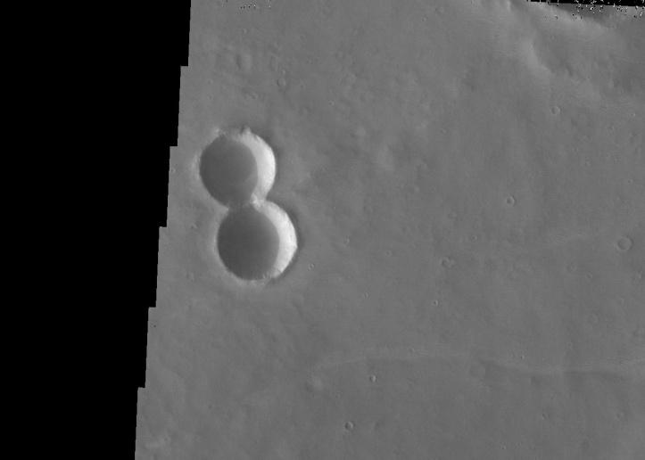 Opt pe Marte. Foto: NASA/JPL/ASU