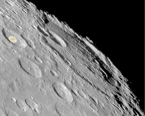 Craterul Bailly și suita sa de cratere