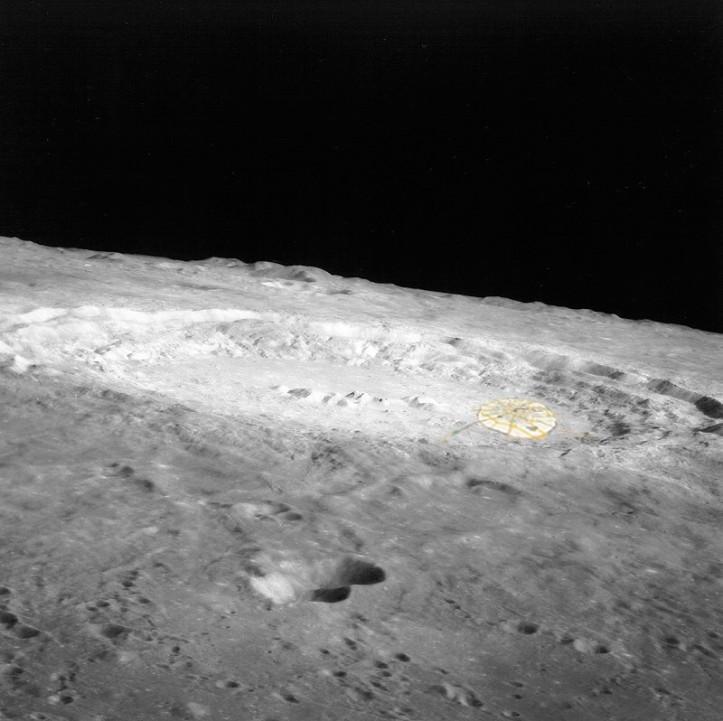 Crater lunar cu oraș la margine. Copernic și Bucureștiul