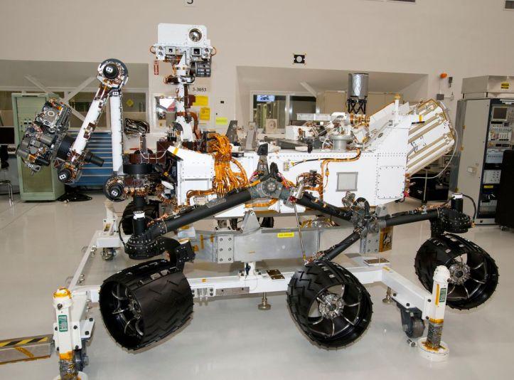 MSL. Foto: NASA/JPL-Caltech