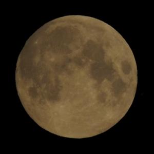 Luna pe 14 iulie. Foto: Adrian Șonka