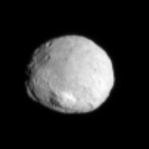Vesta de la 100.000 de km. Foto: NASA/JPL-Caltech/UCLA/MPS/DLR/IDA