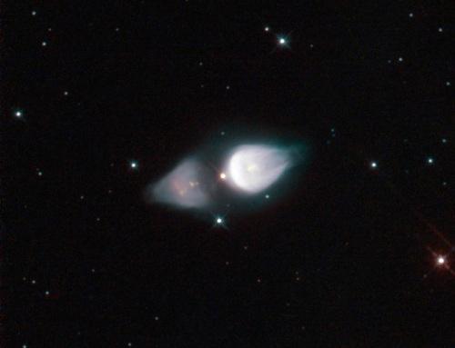 Minkowski 92, o nebuloasă prețioasă. Foto: ESA/Hubble & NASA