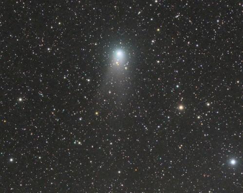 Coma transparenta a cometei C/2009 P1 pe 29.07.2011. Foto: Rolando Ligustri