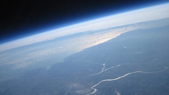 Marea Neagră și Delta Dunării. Foto: Știință și Tehnică