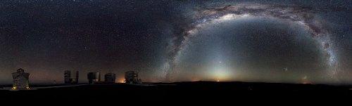 Cerul din emisfera sudică. Foto: ESO/H.H. Heyer/eso.org