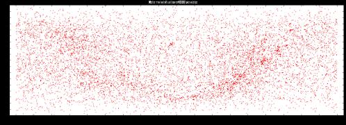 """Cele mai strălucitoare 9000 de stele. Ilustrație Obsevatorul Astronomic """"Amiral Vasile Urseanu"""""""