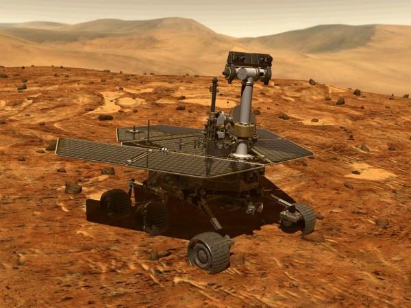 Geologul marțian. Foto: NASA/JPl