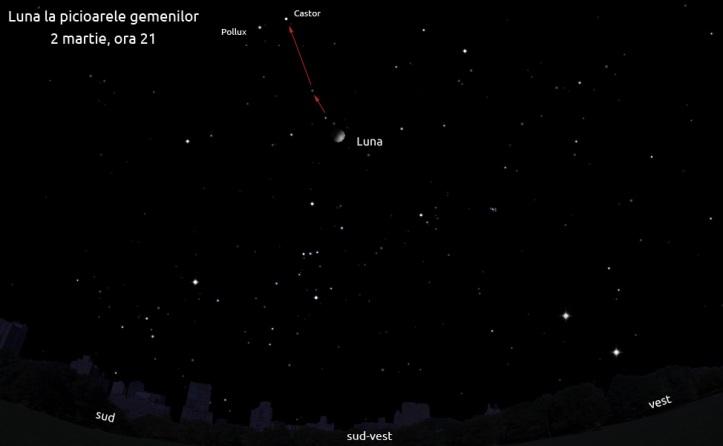 Luna la picioarele gemenilor - 2 martie, ora 21
