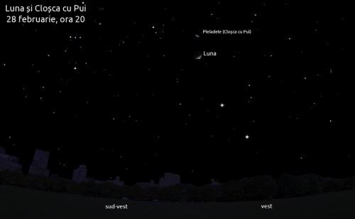Luna sperie cloșca cu pui - 28 februarie, ora 20