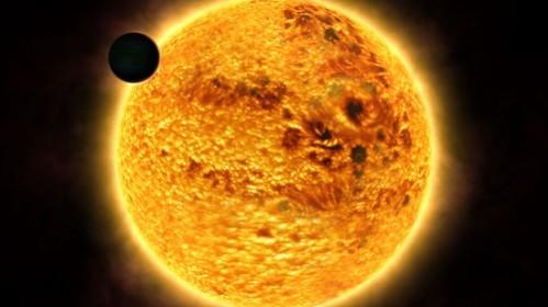 Exoplaneta HAT-P-27 b. Ilustrație: ESO