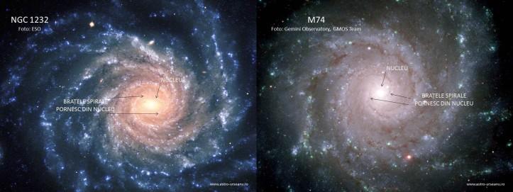 Două galaxii despre care se credea în trecut că seamănă cu Galaxia Noastră