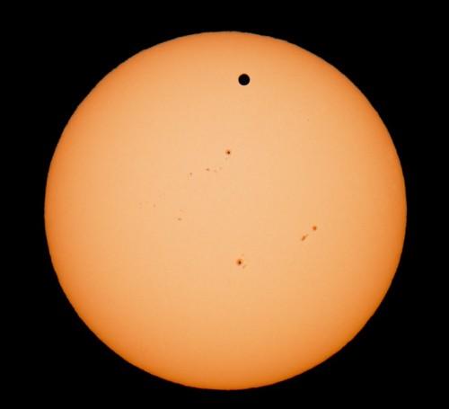 Tranzitul lui Venus. Foto: Cătălin Păduraru