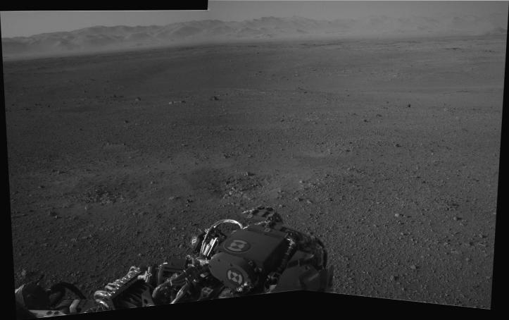 În craterul Gale. Foto: NASA/JPL-Caltech