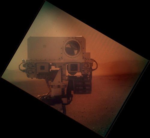 Autoportret. Foto: NASA / JPL / MSSS / Emily Lakdawalla