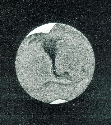 Desen al lui Warren De La Rue din data de 20 aprilie 1856. Oare ce o fi pata albă de jos?