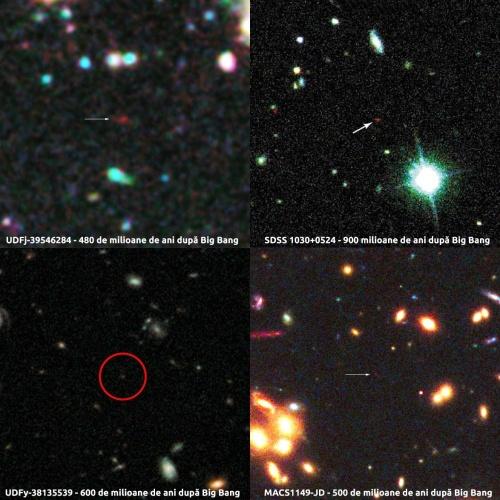 Cele mai îndepărtate obiecte descoperite până în prezent