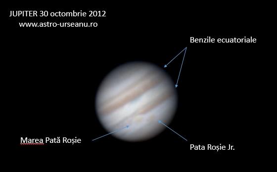 Detalii pe Jupiter