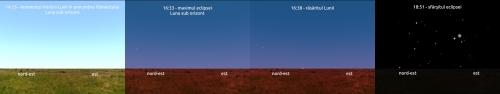 Eclipsa de Lună prin penumbră din 28 noiembrie 2012