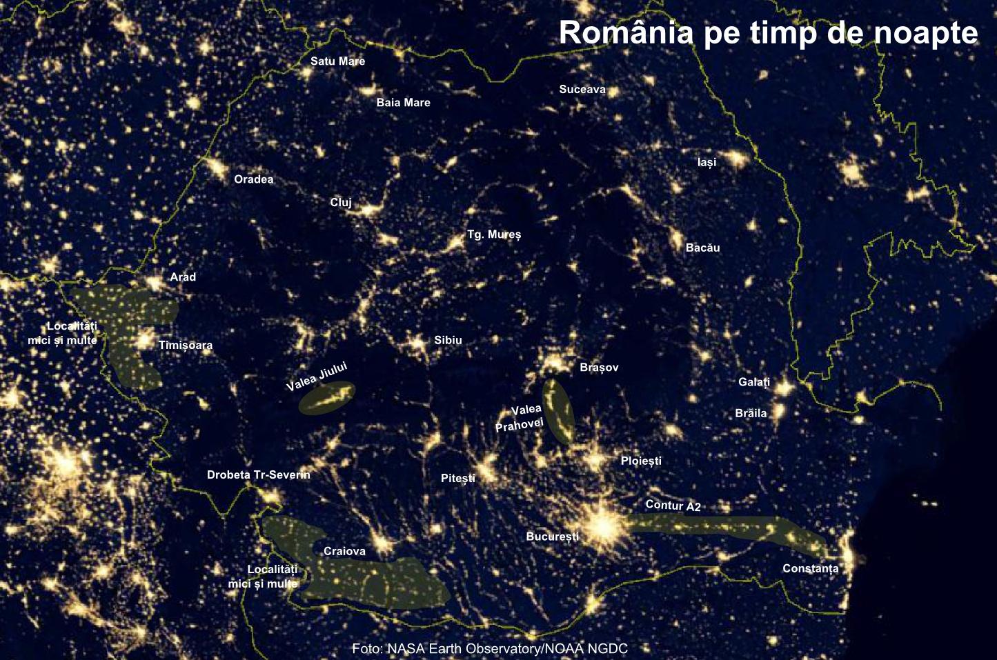Pămantul Noaptea șonka Adrian Astronomie