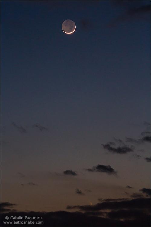 Cometa C/2011 L4 PANSTARRS. Foto: Cătălin Păduraru