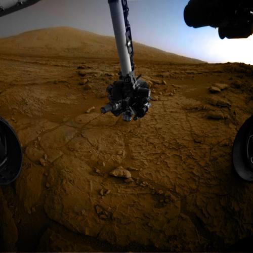 Răsărit de Soare pe Marte, martie 2013 - Marsc Science Laboratory. Foto: NASA/JPL