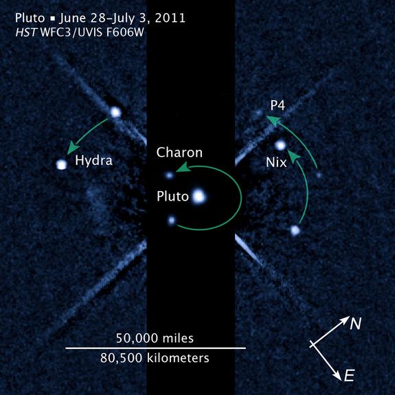 Aglomeratie mare la Pluto