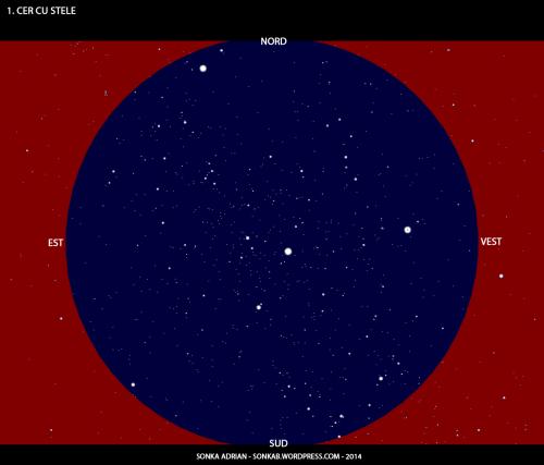 Cerul cu stele - 1 iulie, ora 23