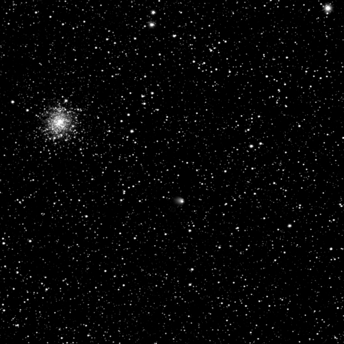 Cometa 67P/Churyumov-Gerasimenko de la 2 milioane km depărtare. Foto:  ESA © 2014 MPS for OSIRIS-Team MPS/UPD/LAM/IAA/SSO/INTA/UPM/DASP/IDA