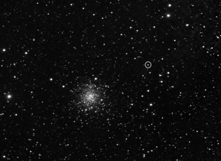 Cometa 67P/Churyumov-Gerasimenko de la 5 milioane km depărtare. Foto:  ESA © 2014 MPS for OSIRIS-Team MPS/UPD/LAM/IAA/SSO/INTA/UPM/DASP/IDA