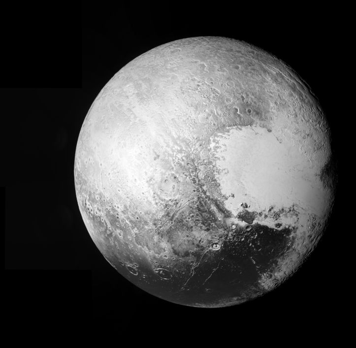 Hello Pluto! Foto: NASA/Johns Hopkins University Applied Physics Laboratory/Southwest Research Institute