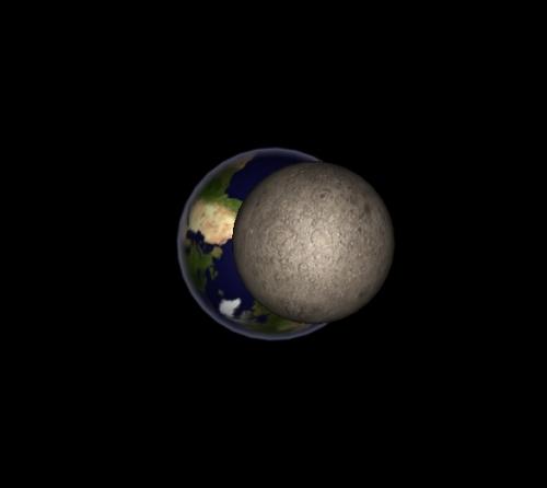 Mercur - Pământ