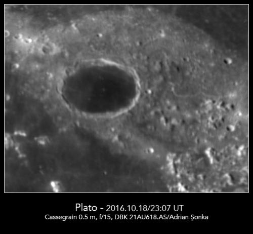Craterul Plato. Foto: Adrian Șonka