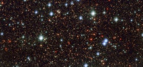 O fotografie frumoasă cu stele. Foto: ESO