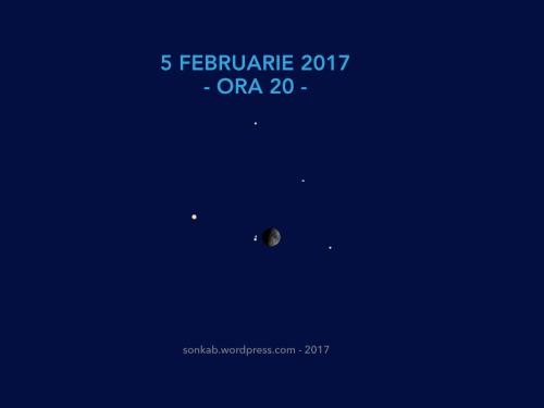 Ora 20, în seara de 5 februarie