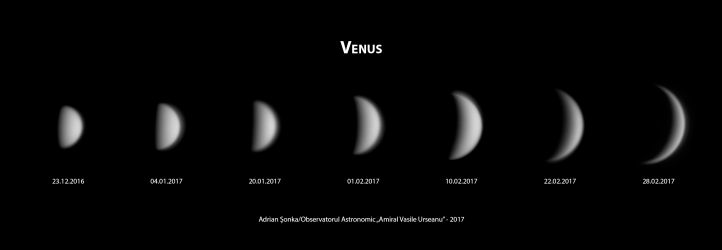 Venus - dec 2016 - feb 201