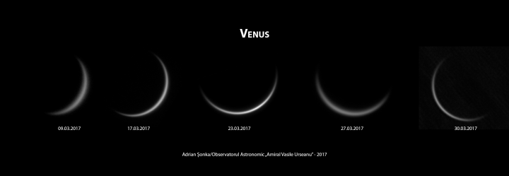 Venus - martie 2017