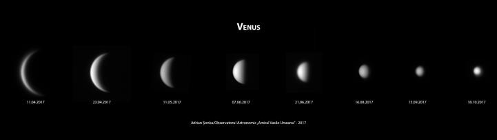 Venus - aprilie-oct 2017