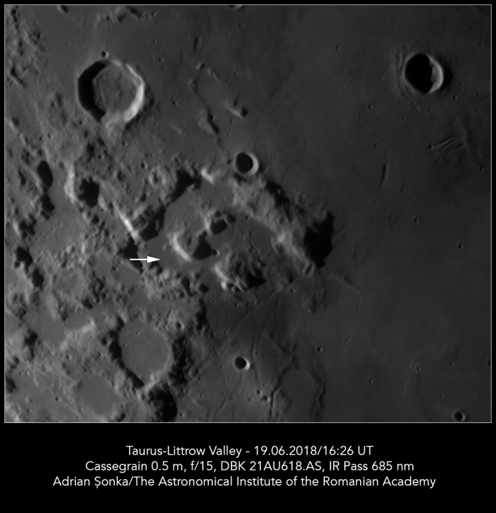 Locul de aselenizare al misiunii Apollo 17