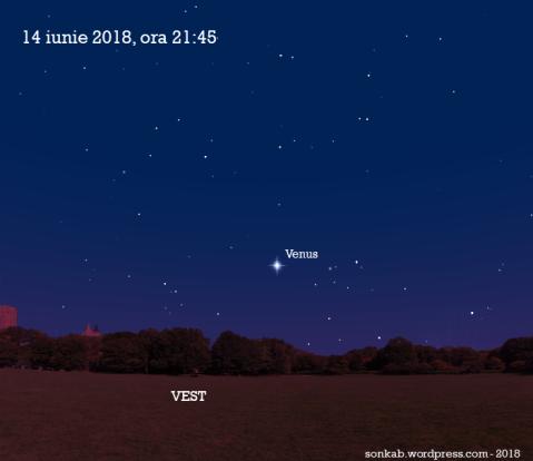 Venus pe 14 iunie