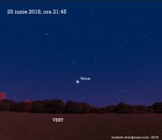 Venus pe 25 iunie